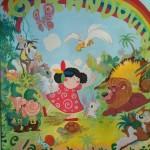 Murales all'ingresso di Girandolina